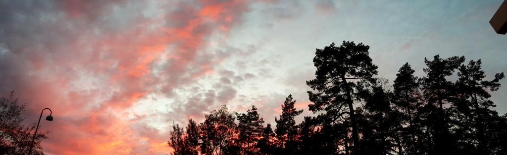Sky over Stockholm by Ingemar Pongratz