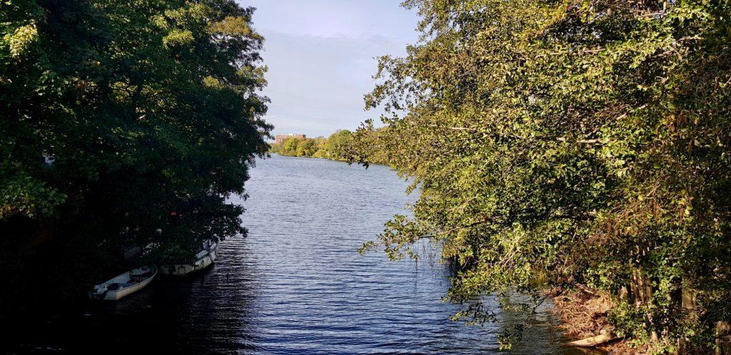 Nacka kanal av Ingemar Pongratz