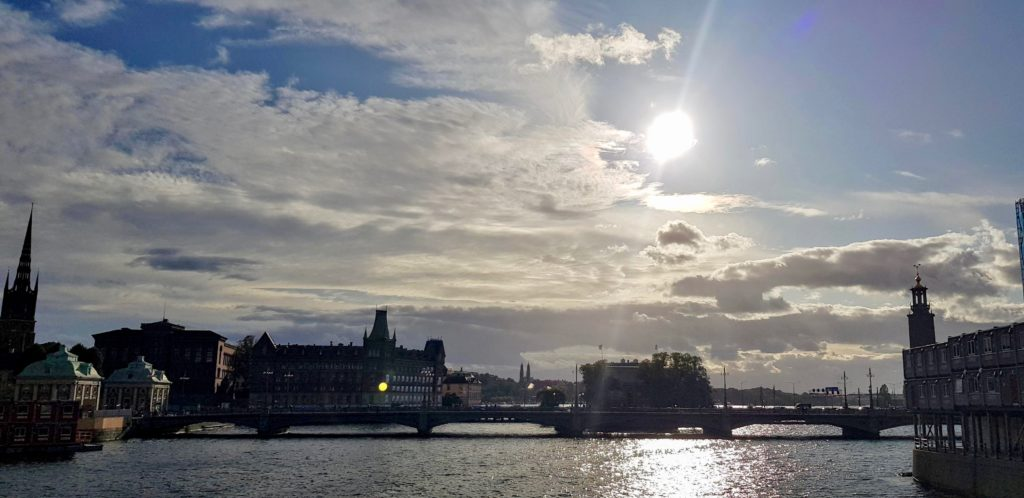 September in Stockholm by Ingemar Pongratz