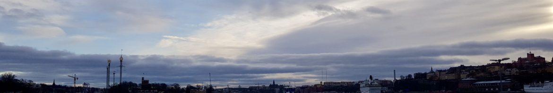 View from Djurgarden by Ingemar Pongratz